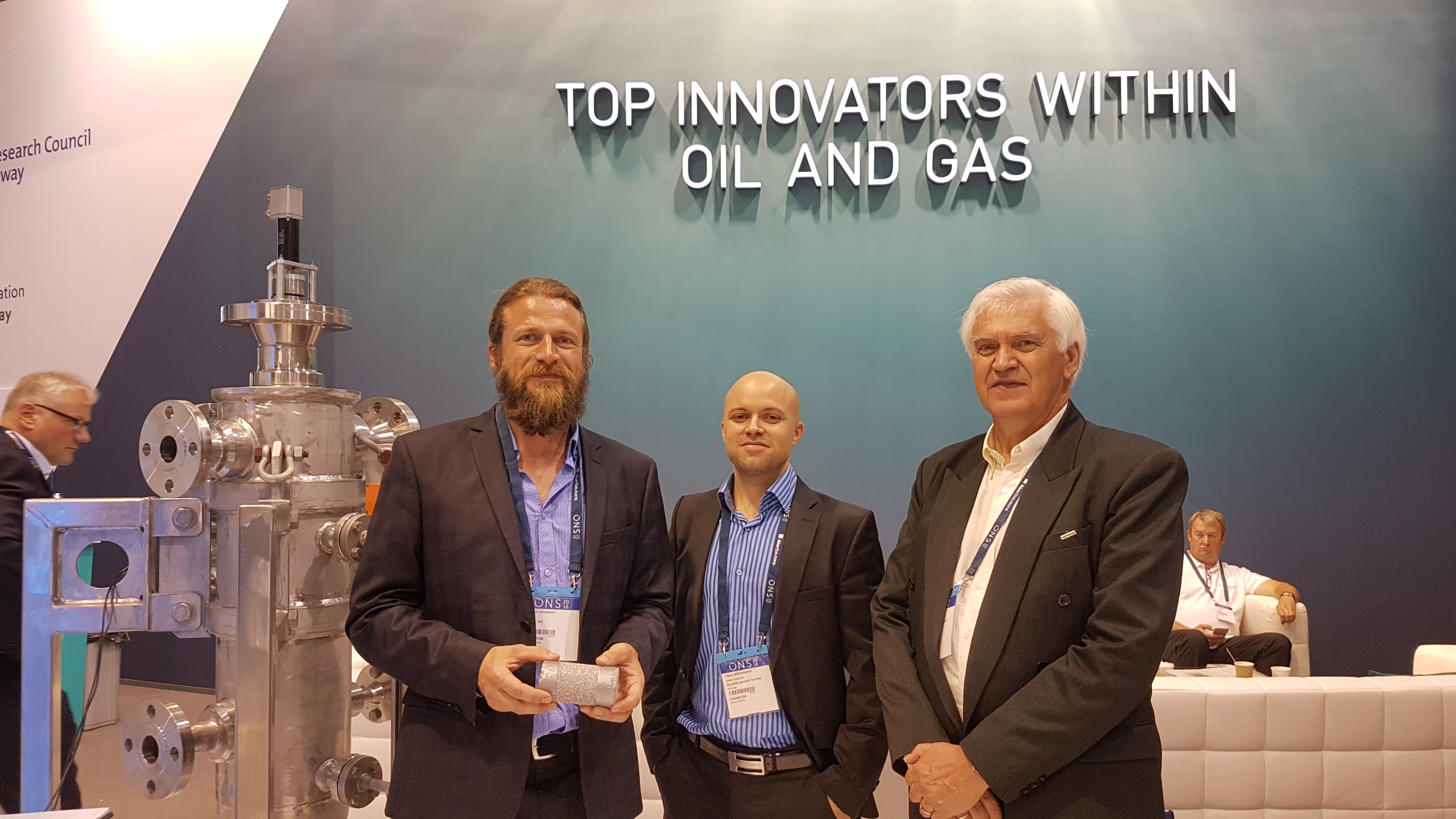 EagleBurgmann at InnSep stand at ONS2016